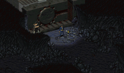 Fallout 1なんちゃってリプレイ Vaultから来た男:Log01「扉の外」