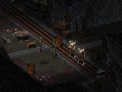 Fallout 1なんちゃってリプレイ Vaultから来た男:Log09「Necropolis」