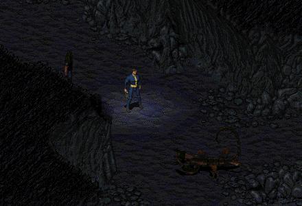 Fallout 1なんちゃってリプレイ Vaultから来た男:Log04「サソリ退治」